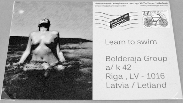 Learn to Swim. Photo Dmitry Sumarokov. Bolderajas Grupa mail art project, 2009 (14)
