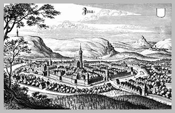 Matthäus Merian - Jena (1650)s